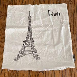 Alamode Home Paris Eiffel Tower Pillow Cover